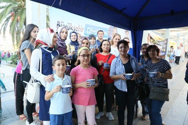 Aydın'da glutensiz aşureye yoğun ilgi