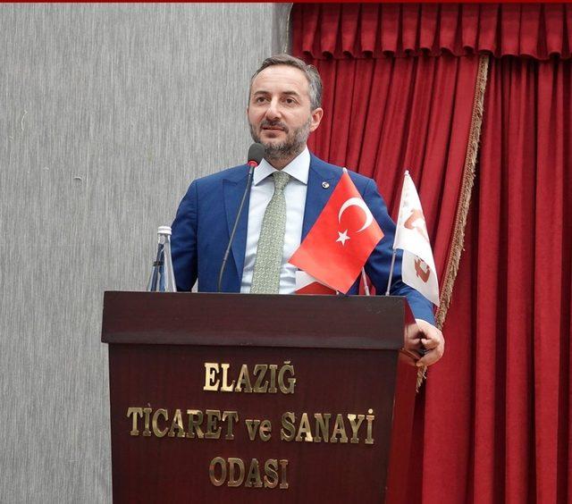 Elazığ TSO Başkanı Aslan,
