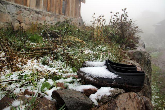 Ardahan'ın yükseklerine kar yağdı ile ilgili görsel sonucu