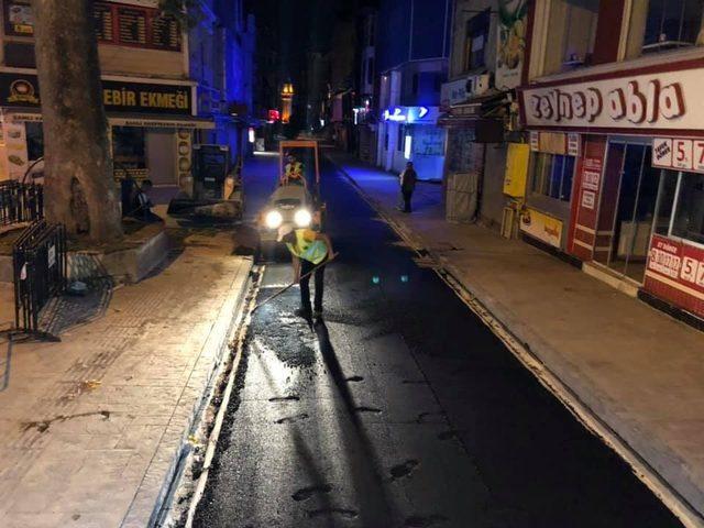 İlkadım'da cadde ve sokaklar yenileniyor