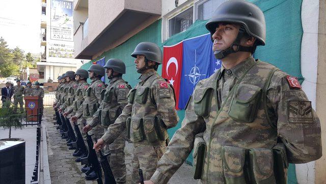 Şehit Astsubay Hüseyin Kutlu, Kosova'da anıldı