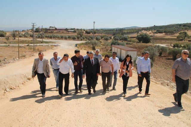 Yayman ve Çelik Yayladağı-Antakya Karayolu'nda incelemelerde bulundu