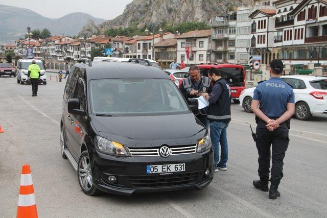Polisten 'dumansız araçlar'  uygulaması