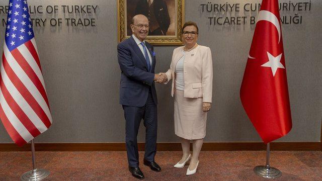 İki ülkenin ticaret bakanları Ankara'da, ticaret hacmini artırmanın yollarını görüştü