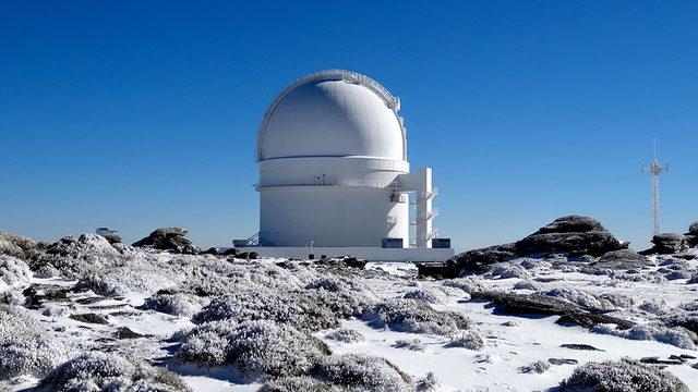 Yıldız ve gezegen İspanya'daki Calar Alto rasathanesindeki teleskop ile keşfedildi