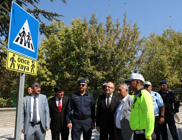Afyonkarahisar'da yaya güvenliği için nöbet tuttular