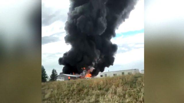 ABD'de uçak kazası: 5 ölü, 9 yaralı (2)- Yeniden