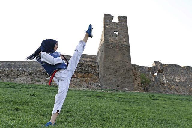Diyarbakırlı Ahsen'in hedefi, dünya şampiyonluğu
