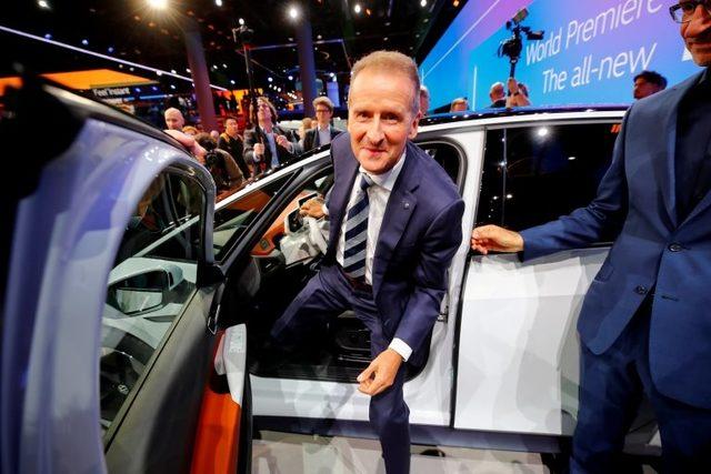 Volkswagen Yönetim Kurulu Başkanı Herbert Diess
