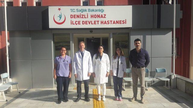 Denizli'ye 95 yeni doktor ataması yapıldı