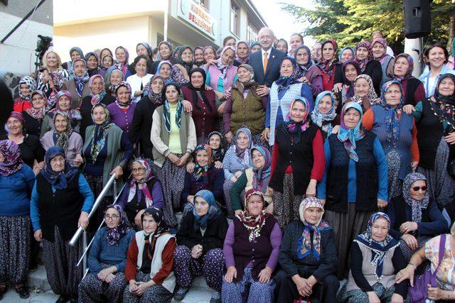 Kılıçdaroğlu mikrofonsuz konuştu (4)