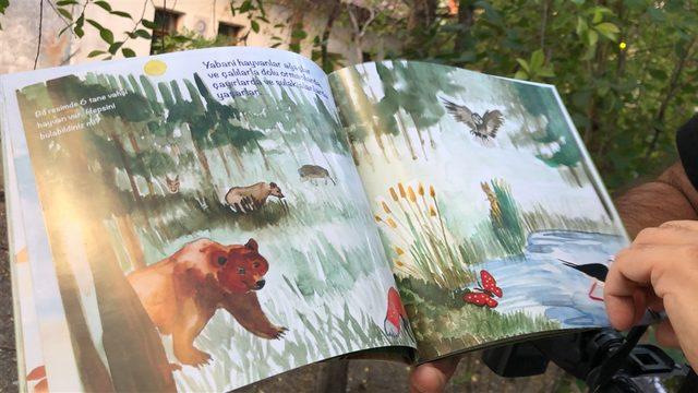 Kars ve Sarıkamış'ın yaban hayatı çocuk kitabında toplandı