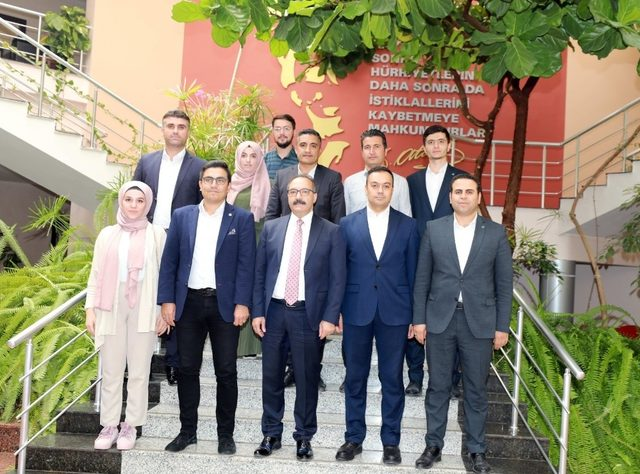 TÜGVA Gaziantep il yönetimden ziyaret