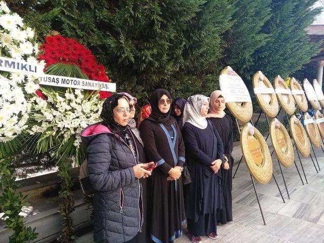 Savunma Sanayii Başkanı Demir'in annesi son yolculuğuna uğurlandı