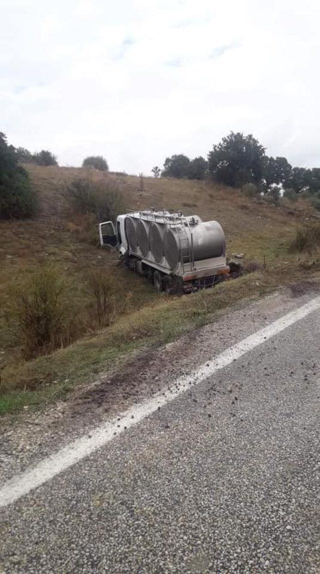 Demirci'de trafik kazası: 1 ölü