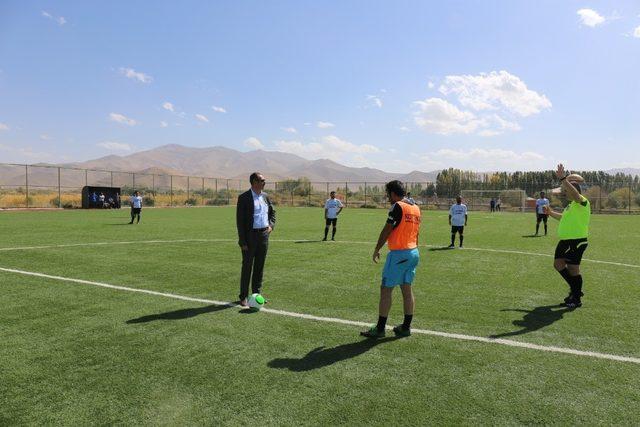 Gürpınar Belediyesinden futbol turnuvası