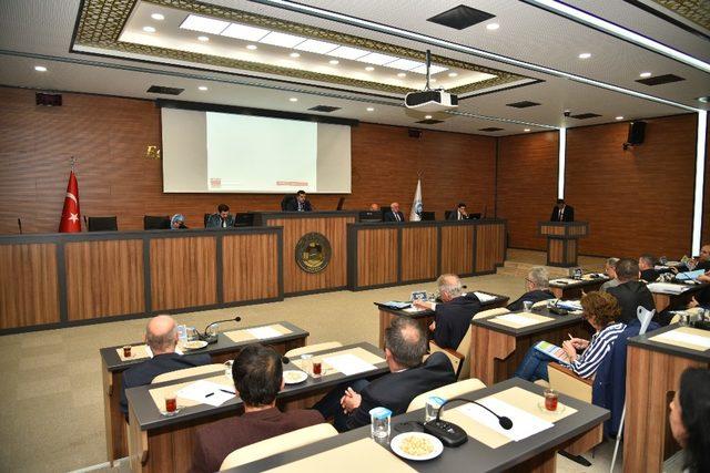 Ortahisar Meclisi, 2020 Yılı Mali Bütçesi'ni kabul etti