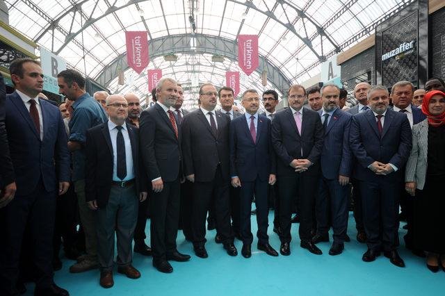 Cumhurbaşkanı Yardımcısı Fuat Oktay, MODEF EXPO'da
