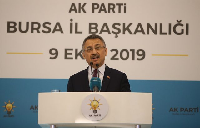 Cumhurbaşkanı Yardımcısı Fuat Oktay, Bursa'da
