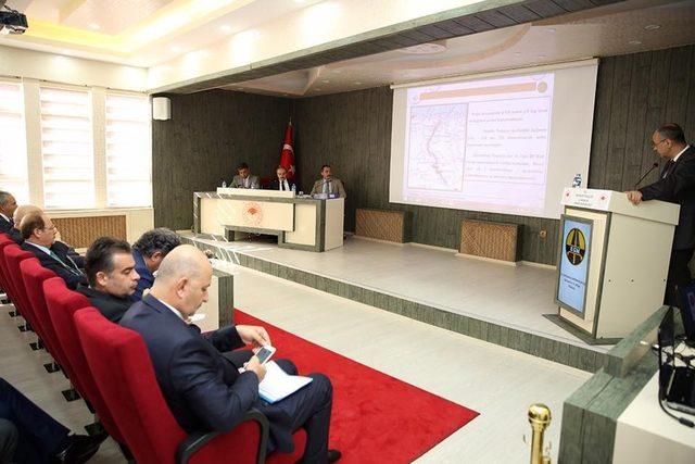 İl Koordinasyon Kurulu toplantısı Vali Epcim başkanlığında yapıldı