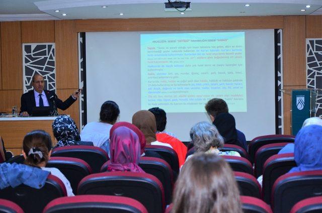 """Ankara'da """"Helal Gıda ve Sağlıklı Beslenme Semineri"""