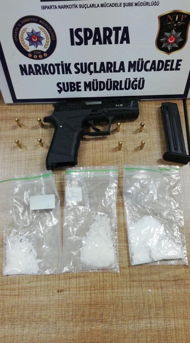 Isparta'daki uyuşturucu operasyonunda 6 tutuklama