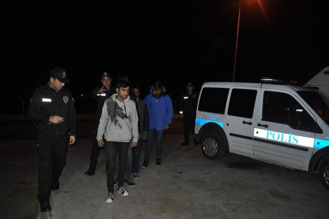 Tekirdağ'da 4 kaçak göçmen yakalandı