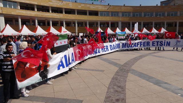 Suriyeli öğrencilerden 'Barış Pınarı Harekatı'na destek