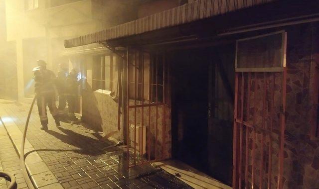 Pamukkale'de sinema yangını