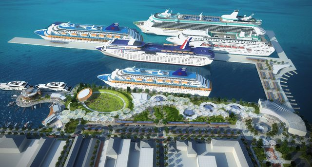 Global Ports Holding, Nassau Kruvaziyer Limanı'nı işletmeye başladı