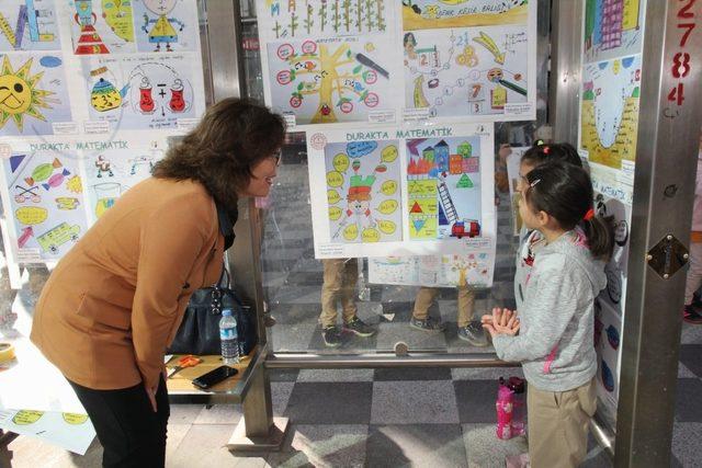 Sungurlu'da 'Durakta Matematik' Projesi Başladı