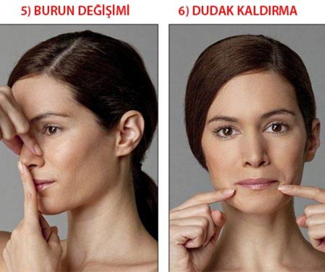 Yaşlanmayı önleyen yüz egzersizleri