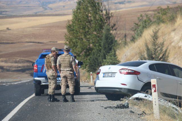 Adıyaman'da trafik kazası: 5 yaralı