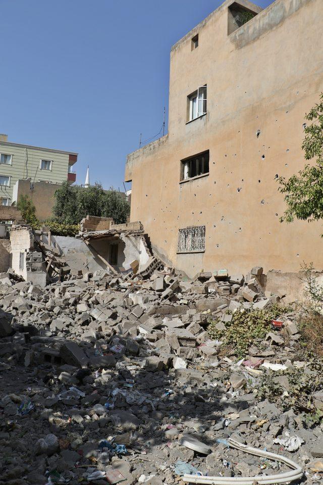 Nusaybin'de 8 sivilin şehit olduğu saldırının izleri