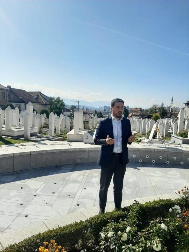Belediye Başkanı Rasim Arı, Bosna Hersek'te