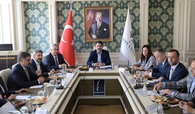 Çevre ve Şehircilik Bakanı Murat Kurum Adıyaman'da<br />