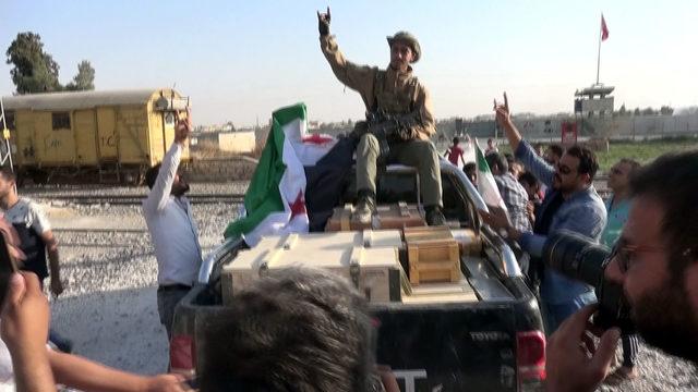 Barış Pınarı Harekatı'nda 5'inci gün (9)
