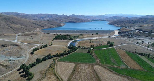 Bayburt'ta 2019 yılı sulama sezonunda 73 bin 50 dekar tarım arazisi sulandı