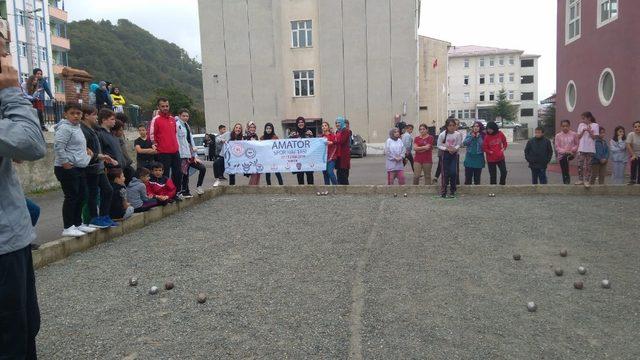 Trabzon'un her yerinde Amatör Spor Haftası birçok etkinlikle kutlandı
