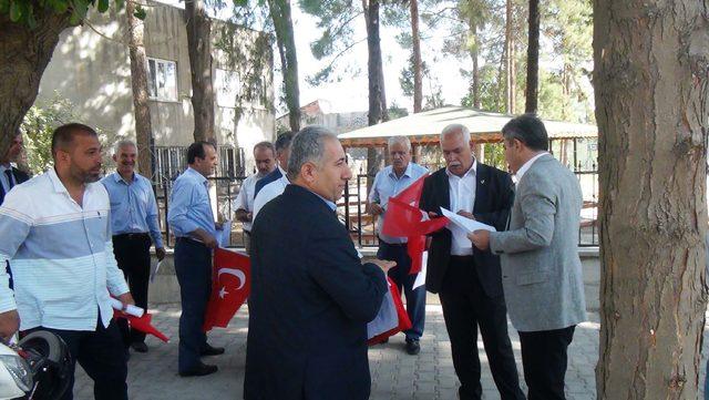 Muhtarlar 'Barış Pınarı Harekatı'na katılmak için dilekçe verdi
