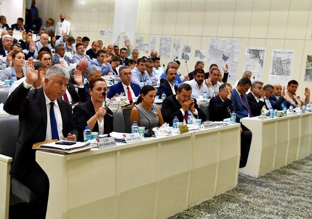 İzmir Büyükşehir Belediyesi Meclisi'nden Barış Pınarı Harekatı'na destek