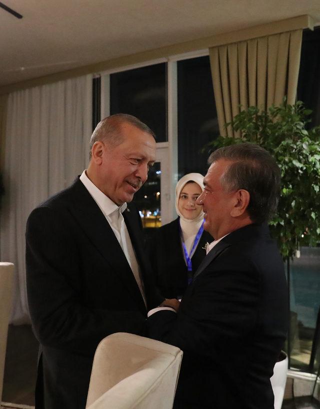 Erdoğan, Devlet ve Hükümet Başkanları gayri resmi akşam yemeğine katıldı