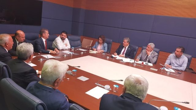 Adana'nın ziraat odası başkanlarından Ankara çıkarması