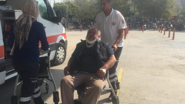 Çocuğun yaralandığı kaza sonrası kavga