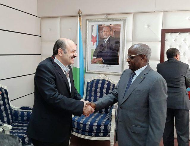 YÖK Başkanı Saraç'a, Cibuti'den 'Liyakat Nişanı'