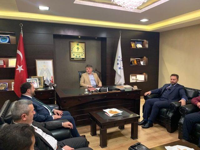 Rize Milletvekili Avcı'dan TÜMSİAD Rize Şubesi'ne ziyaret