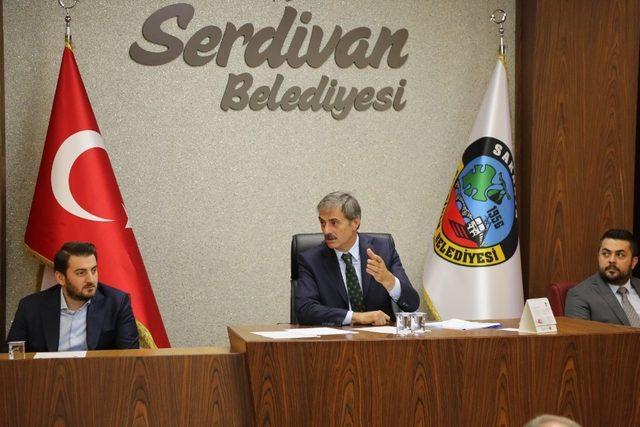 Serdivan'da yeni dönem bütçe ve ücret tarifeleri belirlendi