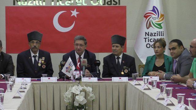 Nazilli'deki borsa ve odalardan Barış Pınarı Harekatı'na destek