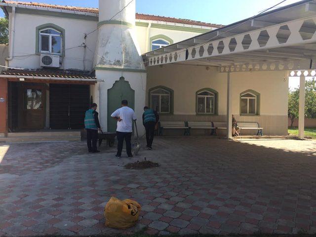 Önerler'deki mesire alanları ve cami, hükümlüler tarafından temizlendi