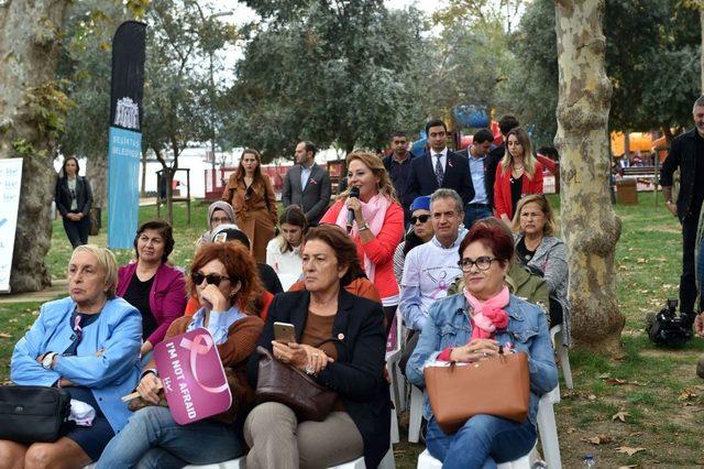 'Pembe Bir Gün' etkinliği Bebek Parkı'nda gerçekleşti